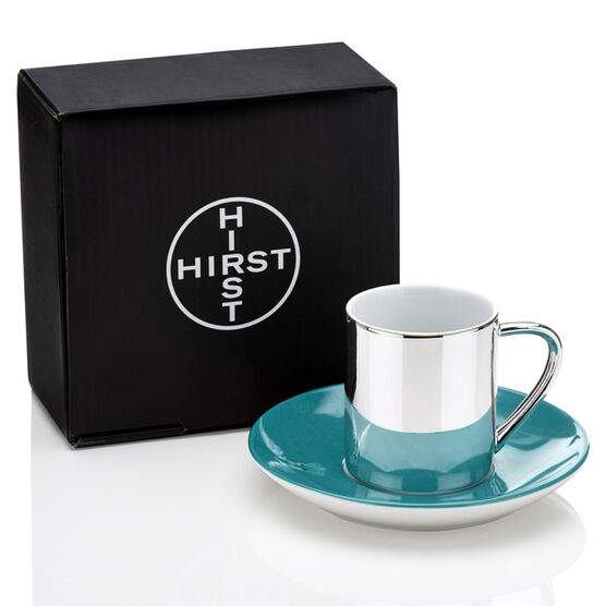 Damien Hirst The Incomplete Truth cup and saucer
