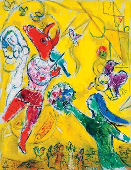 Chagall: The Dance and the Circus (custom print)