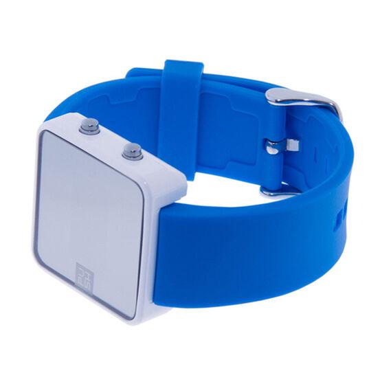 Blue Push watch