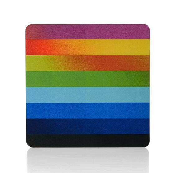 Lenticular multi colour coaster