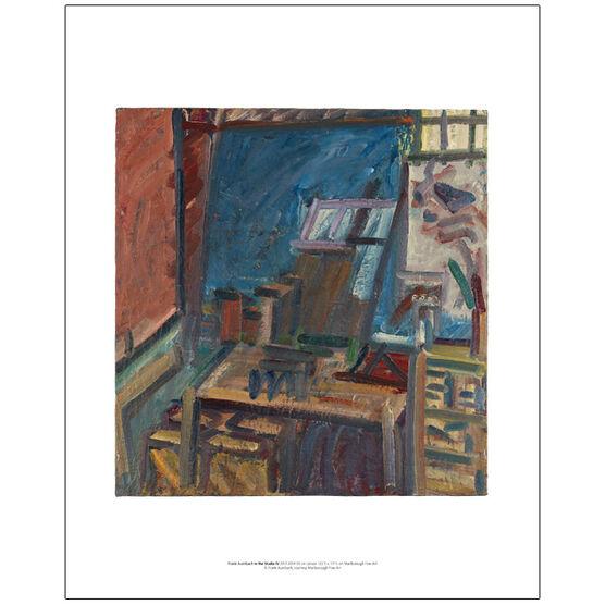 Frank Auerbach In the Studio IV 2013-2014 (mini print)