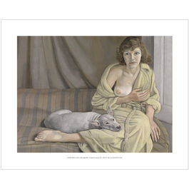 Lucian Freud: Girl with a White Dog mini print
