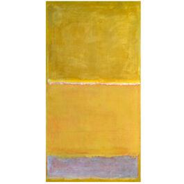 Rothko Untitled Yellow (screen print)