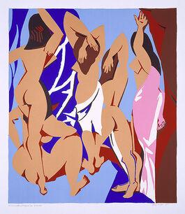 Caulfield: Les Demoiselles d'Avignon vues de derriere
