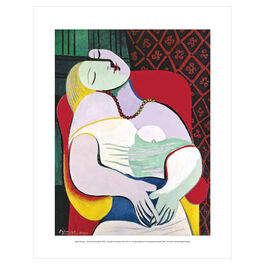Pablo Picasso: The Dream mini print