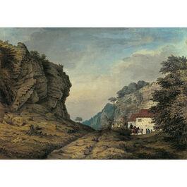 Grimm: Cresswell Crags, Derbyshire (custom print)