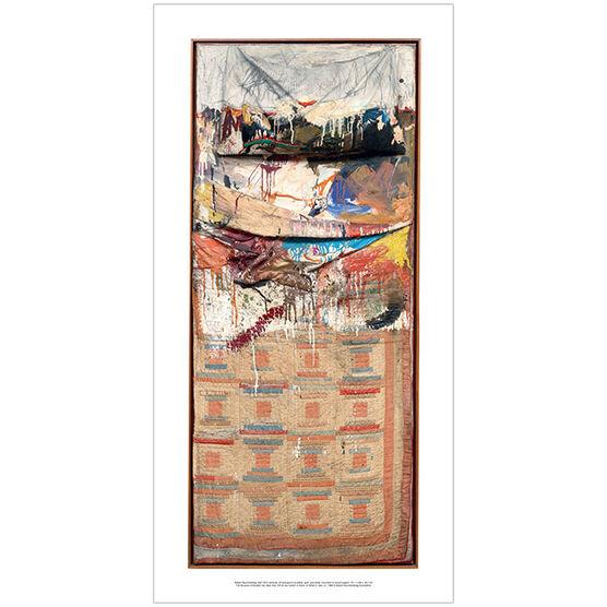 Robert Rauschenberg Bed (Long Poster)