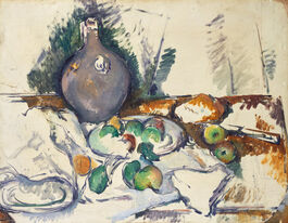 Cezanne: Still Life with Water Jug c.1892-3