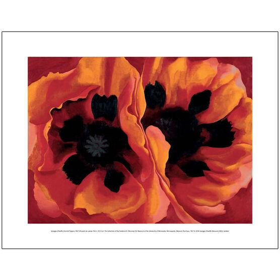 Georgia O''Keeffe Oriental Poppies (mini prints)