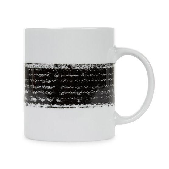 Tire print mug