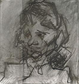 Frank Auerbach: Head of Catherine Lampert II