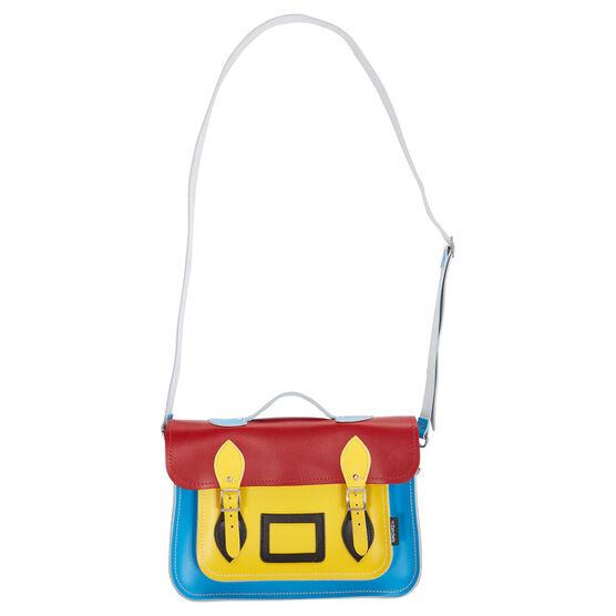 Kaleidoscope Pop Art satchel