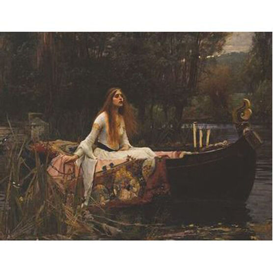 Waterhouse The Lady of Shalott (mini print)