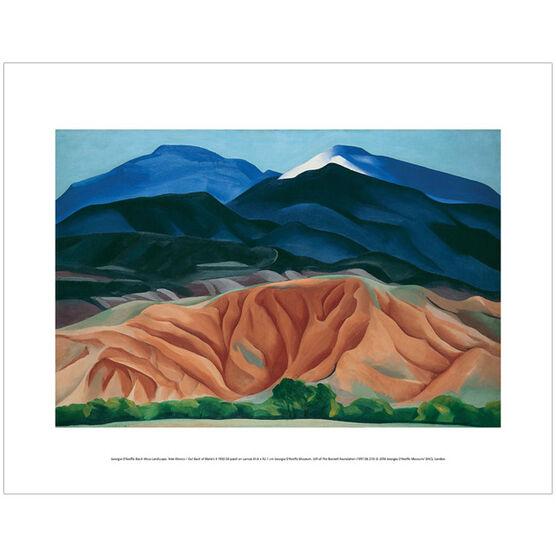Georgia O'Keeffe Black Mesa Landscape (mini print)