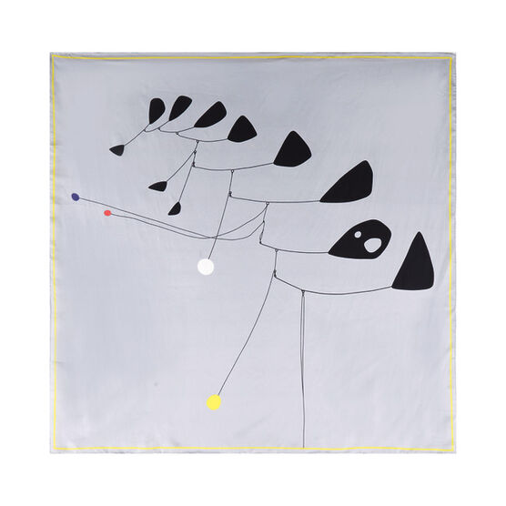 Calder silk scarf