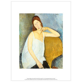 Modigliani Jeanne Hébuterne (exhibition print)