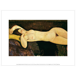 Modigliani Reclining Nude exhibition print