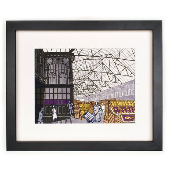 Bawden Covent Garden Fruit Market (framed print)