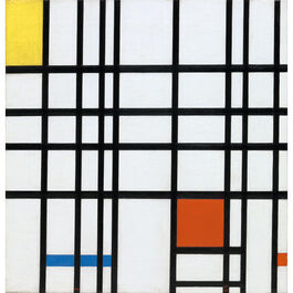 Mondrian: Composition with Yellow, Blue and Red (custom print)