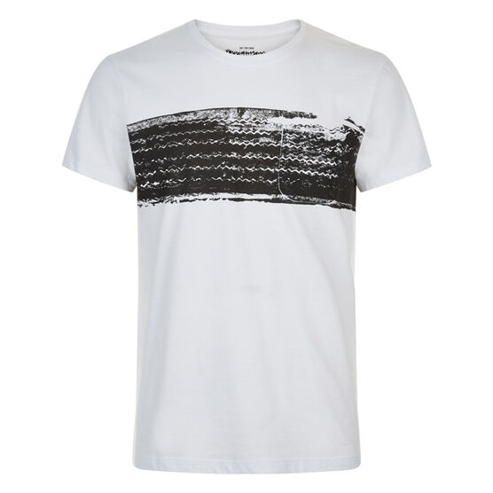 Tire screen print t-shirt