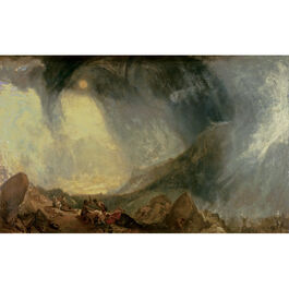 Turner: Snow Storm, Hannibal and his Army