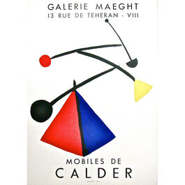 Mourlot - Calder - Galerie Maeght, Mobiles de Calder, 1954