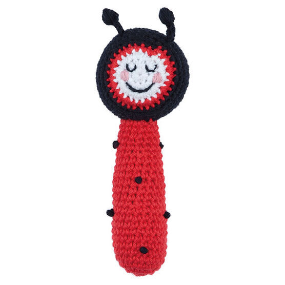 Ruth Green ladybird rattle