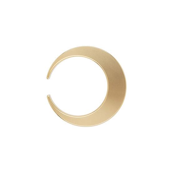 Brass bottle opener crescent