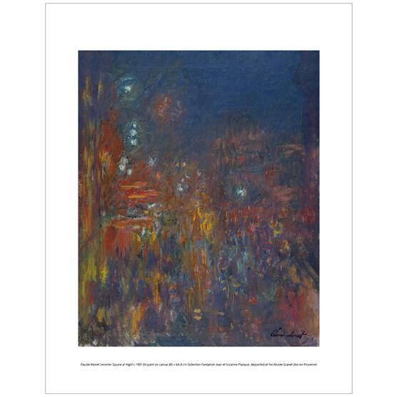 Monet Leicester Square (mini print)