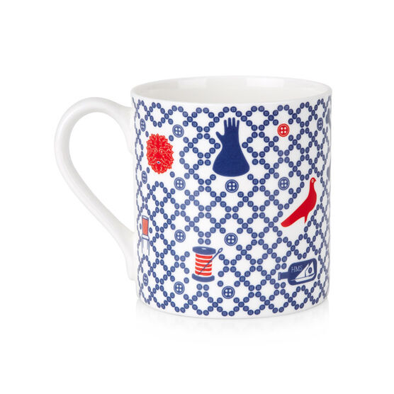 Folk Art Symbols Mug