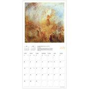 Turner calendar 2018