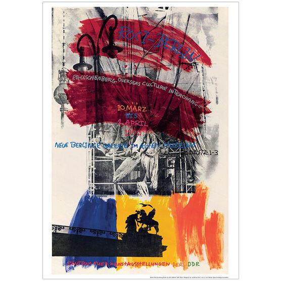 Robert Rauschenberg ROCI Berlin (exhibition poster)
