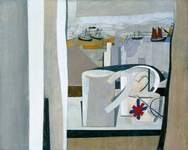 Nicholson: 1943-45 (St Ives, Cornwall) (custom print)