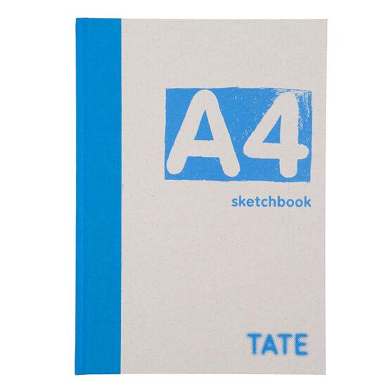 A4 turquoise hardback sketchbook