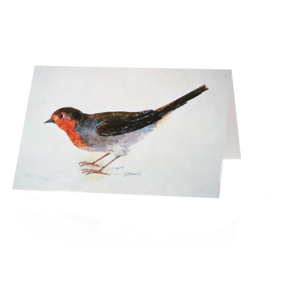 Tate Christmas card JMW Turner Robin (Pack of 10)