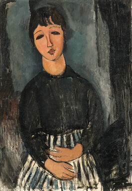 Modigliani: Seated Servant / Portrait of Zofe