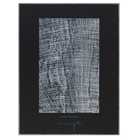 Richard Long, A Cornish Slate Drawing, 2002
