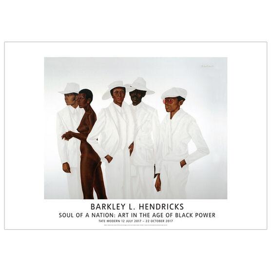 Barkley Hendricks What`s Going On (poster)