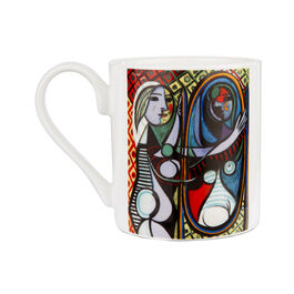 Picasso Girl Before a Mirror mug