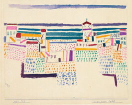 Klee: Seaside Resort in the South of France (custom print)