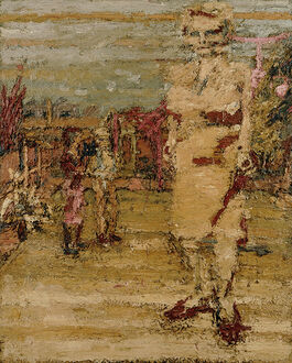 Frank Auerbach: E.O.W., S.A.W. and J.J.W. in the Garden I