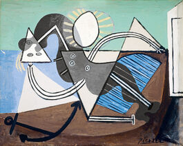 Pablo Picasso: Woman on the Beach