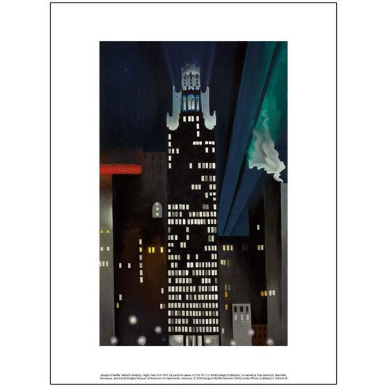 Georgia O'Keeffe Radiator Building - Night, New York (exhibition print)