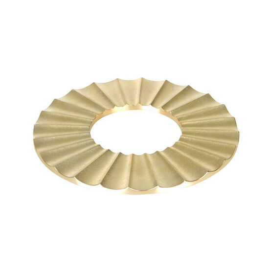 Brass trivet sun