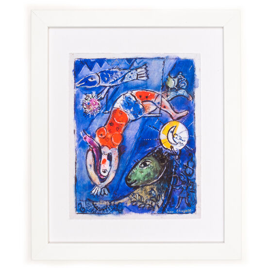 The Blue Circus - framed print