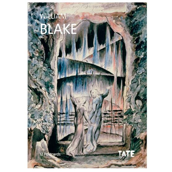William Blake postcard book