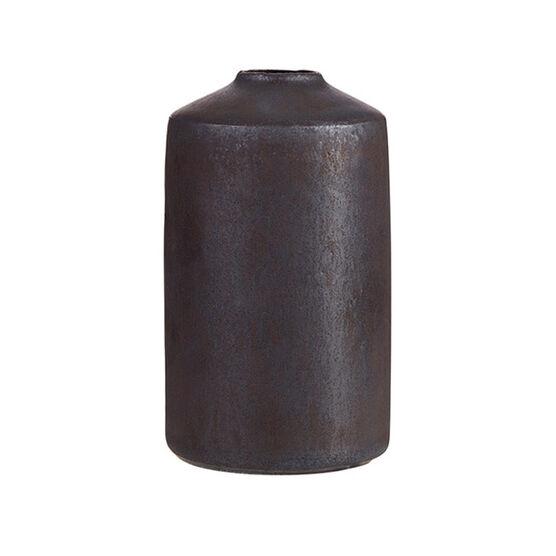 Ceramic vase - medium charcoal