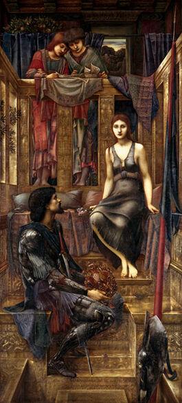 Burne-Jones: King Cophetua & the Beggar Maid
