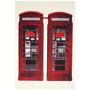 London postcard book