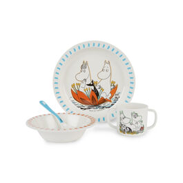Moomin children's tableware set
